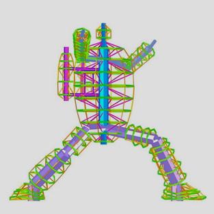 構造設計(塔状鉄骨構造)